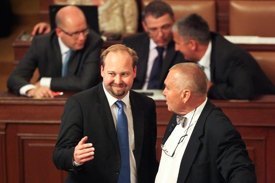 Poslanci ČSSD