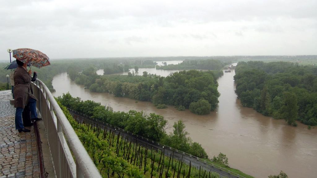 Povodně v Mělníku