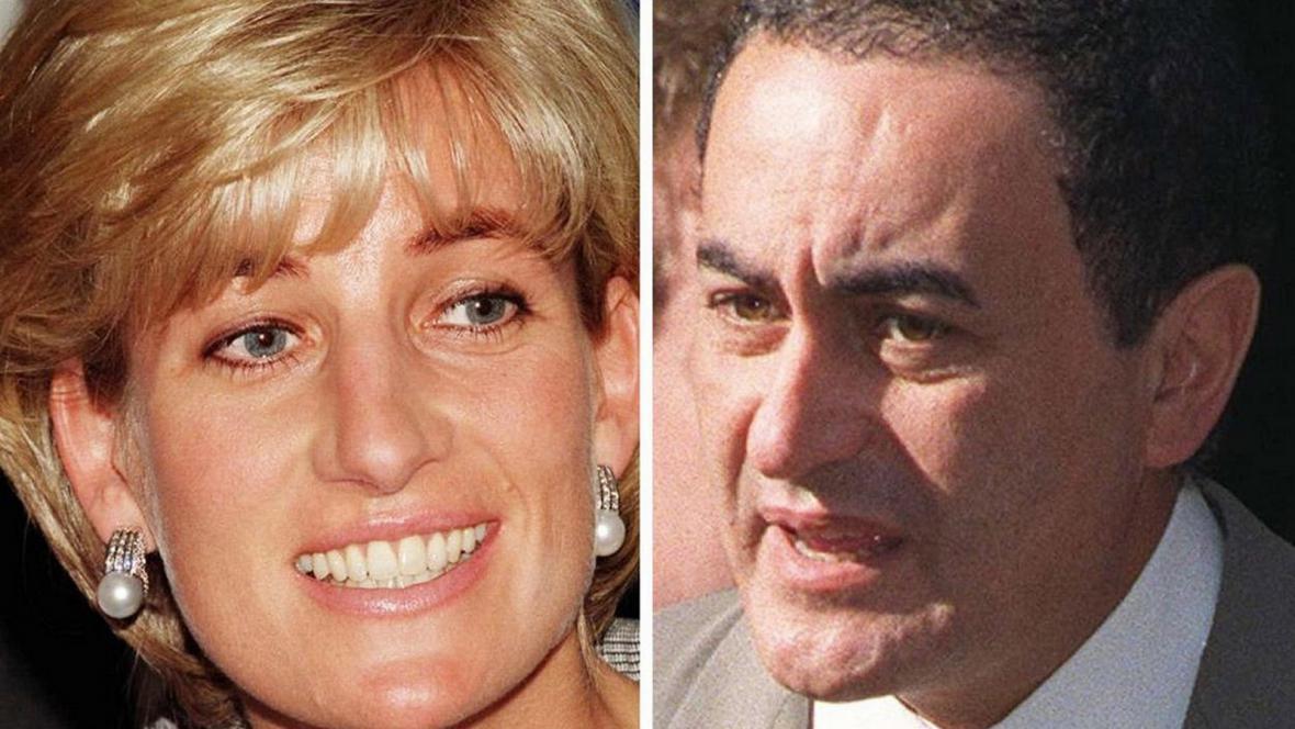 Princezna Diana a Dodi Fayed