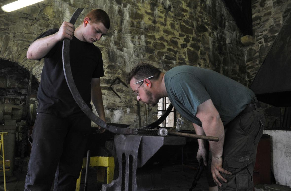 Andrew K. Molinaro, Patrick Weiss, kováři