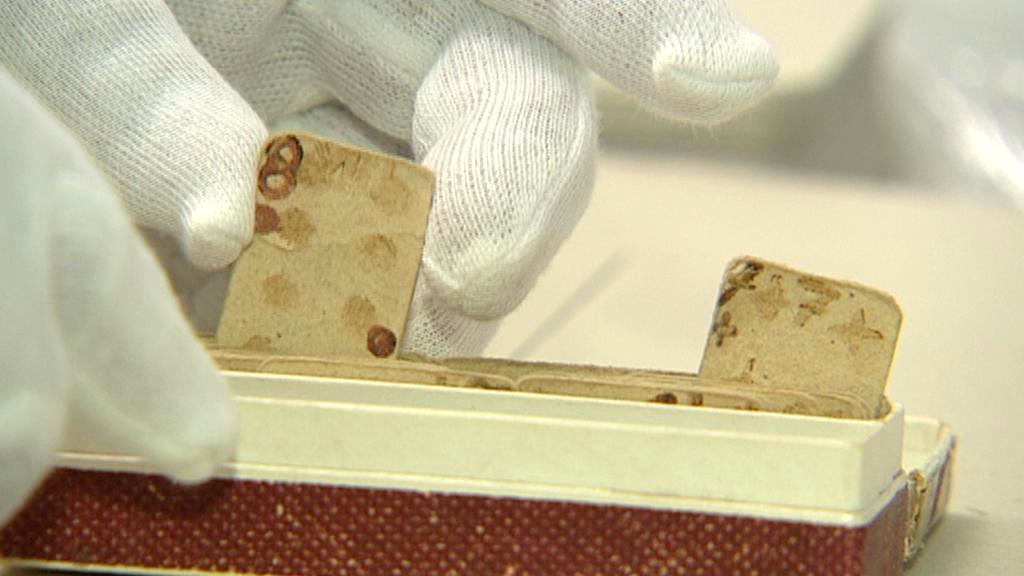 Karty Aloise Eliáše v Národním archivu