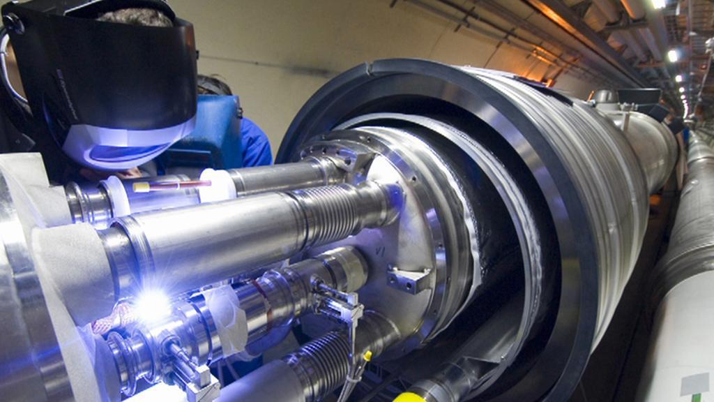 Výzkum v ženevském centru CERN