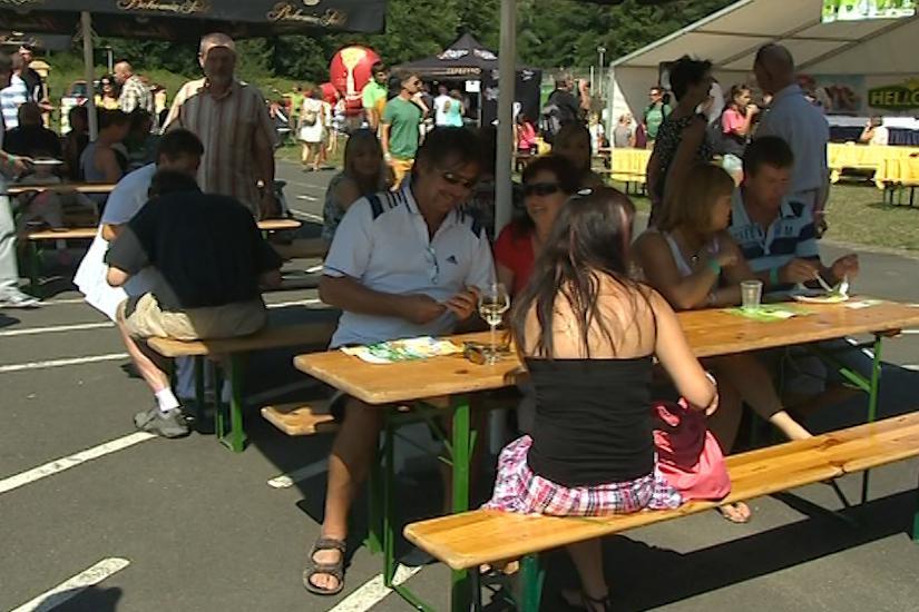 Gurmánský festival přilákal do Luhačovic pět tisíc lidí