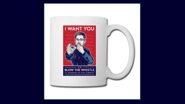 Hrneček s Edwardem Snowdenem