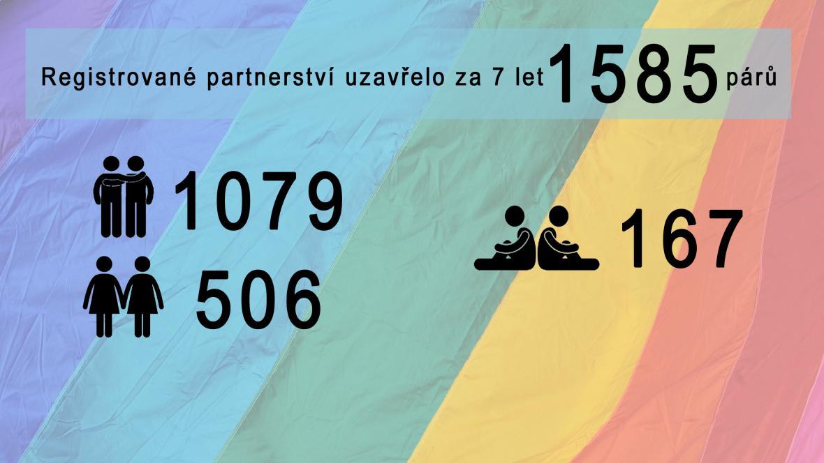 Registrovaná partnerství v Česku