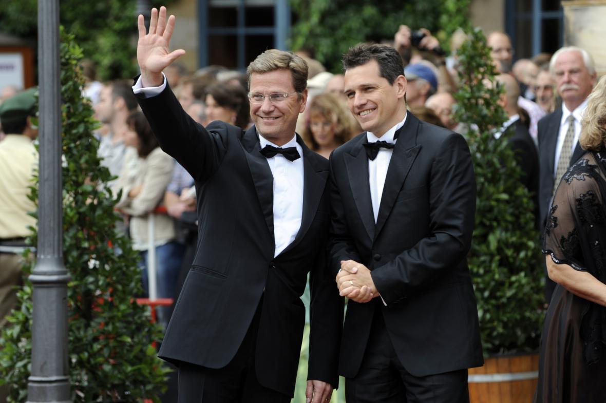 Guido Westerwelle a Michael Mronz