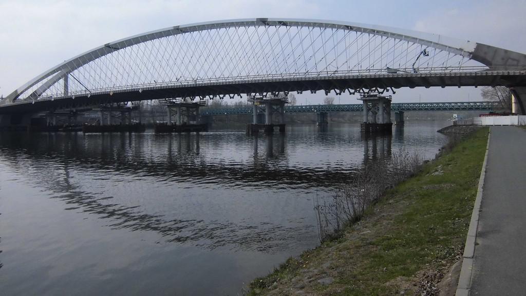 Nový most spojí Holešovice a Troju