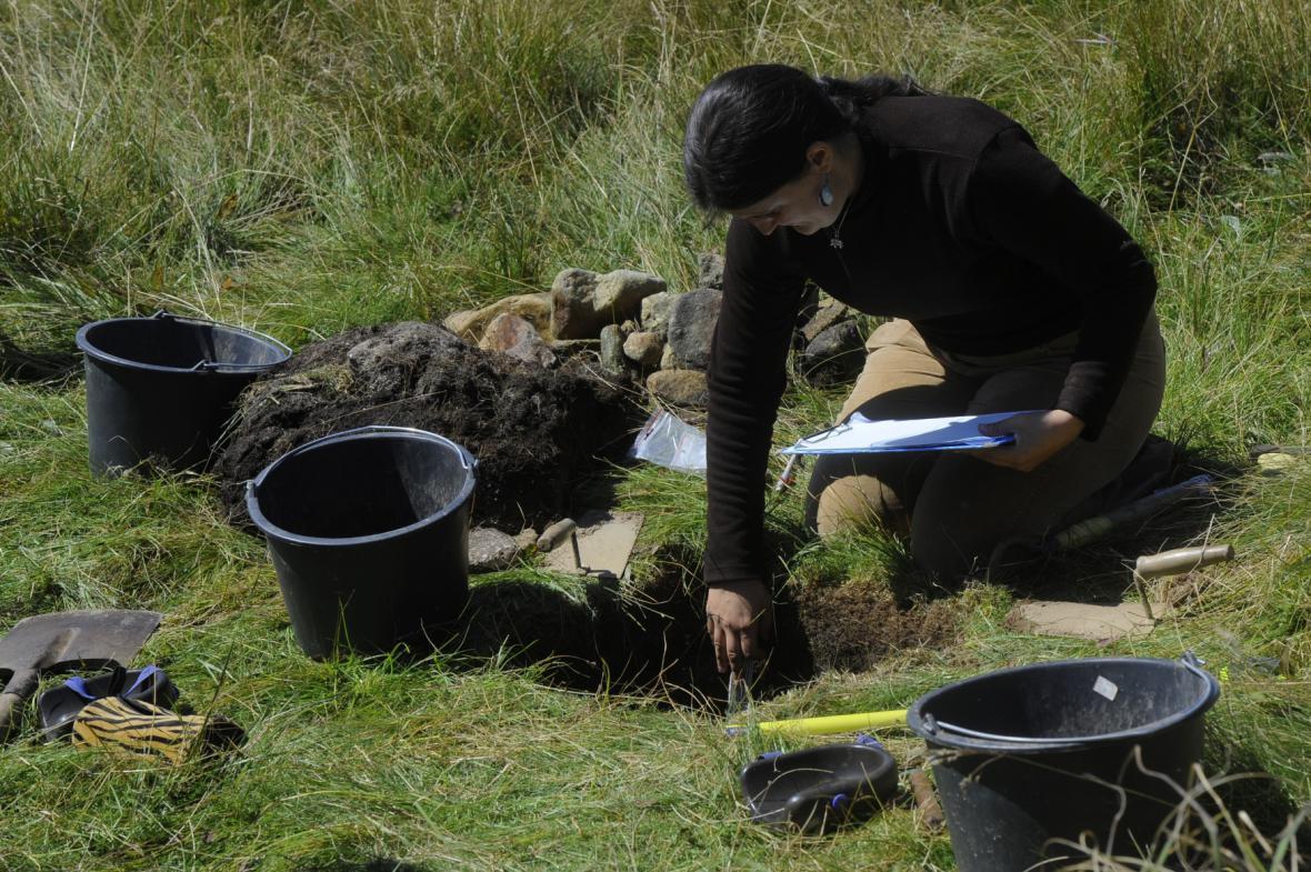 Archeologický průzkum na Šumavě