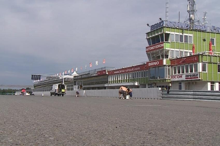 Automotodrom Brno se chystá na největší událost sezóny