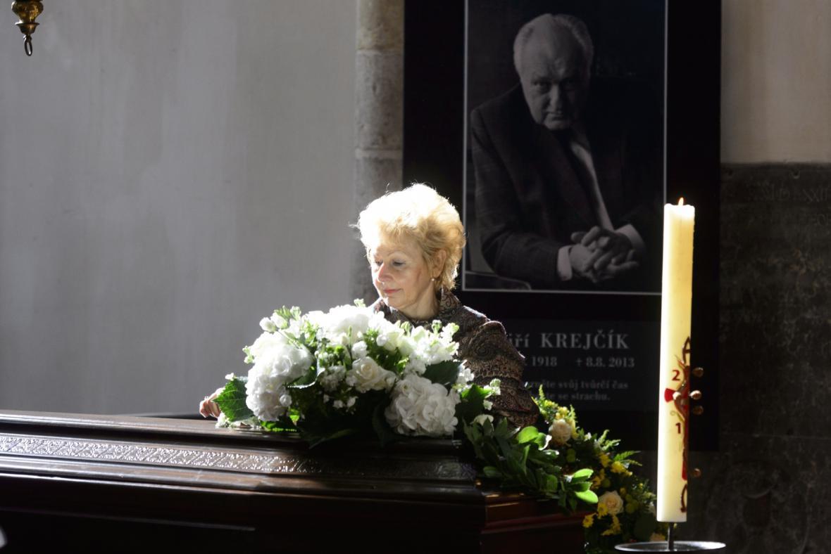 Pohřeb Jiřího Krejčíka