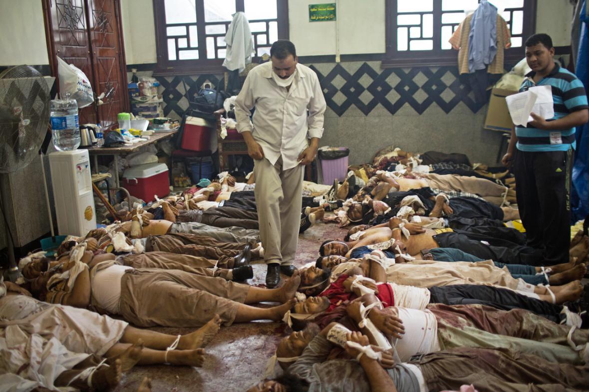 Oběti z řad Mursího stoupenců