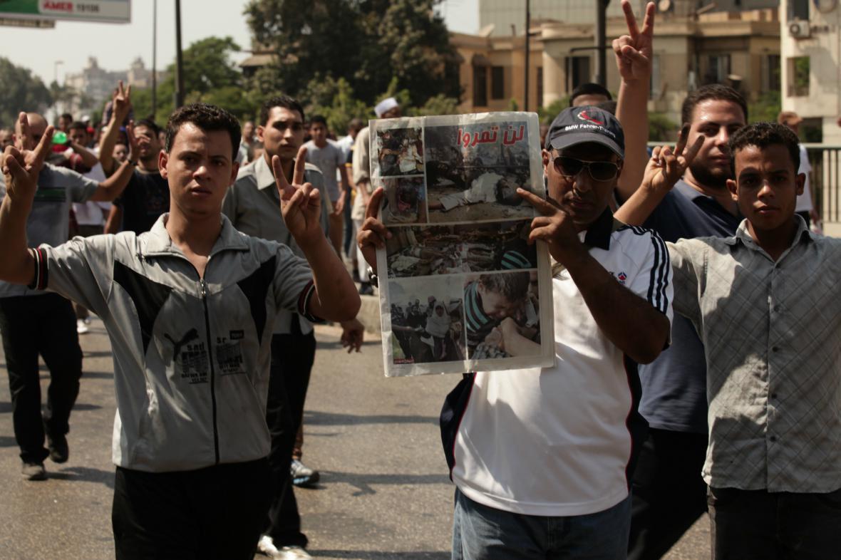 Egyptské protesty