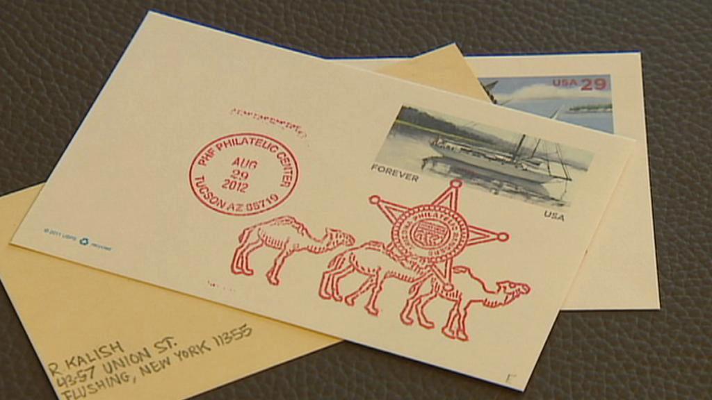 Zásilky americké pošty
