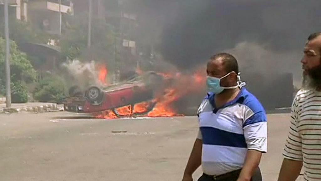 Násilnosti v Egyptě