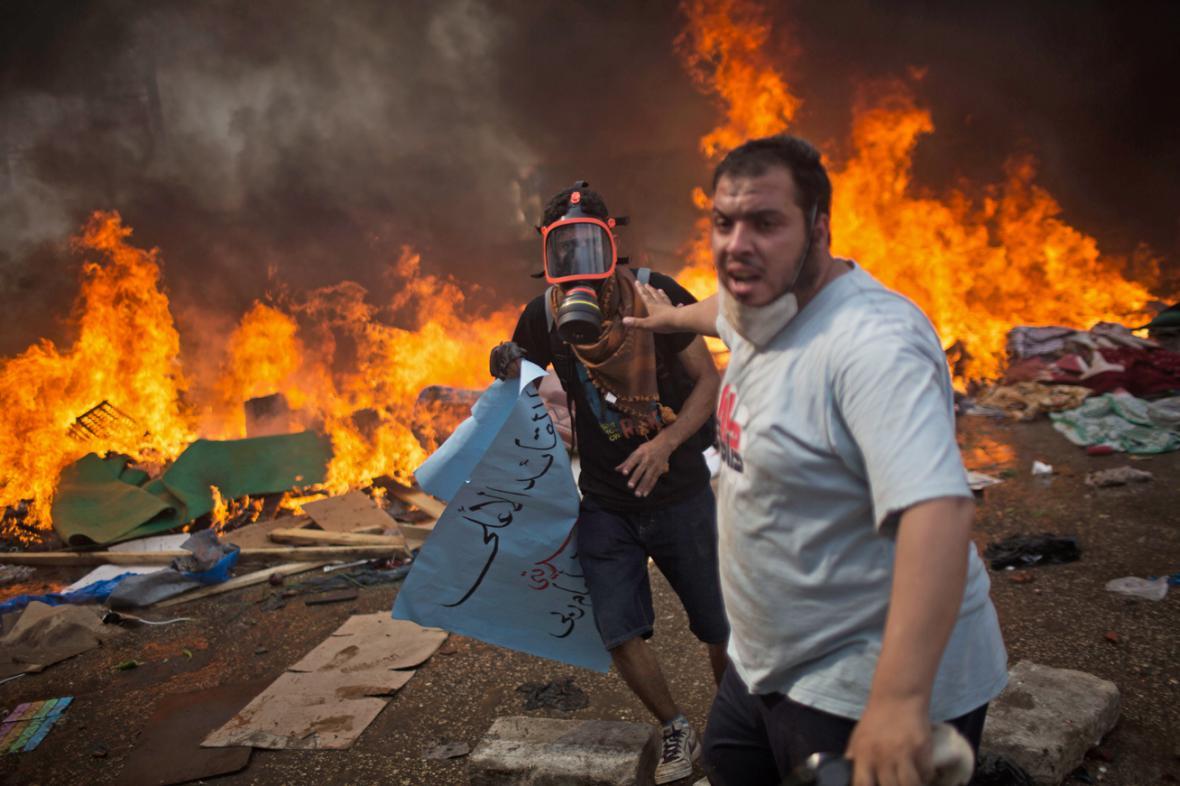 Egyptská policie zakročila proti Mursího příznivcům