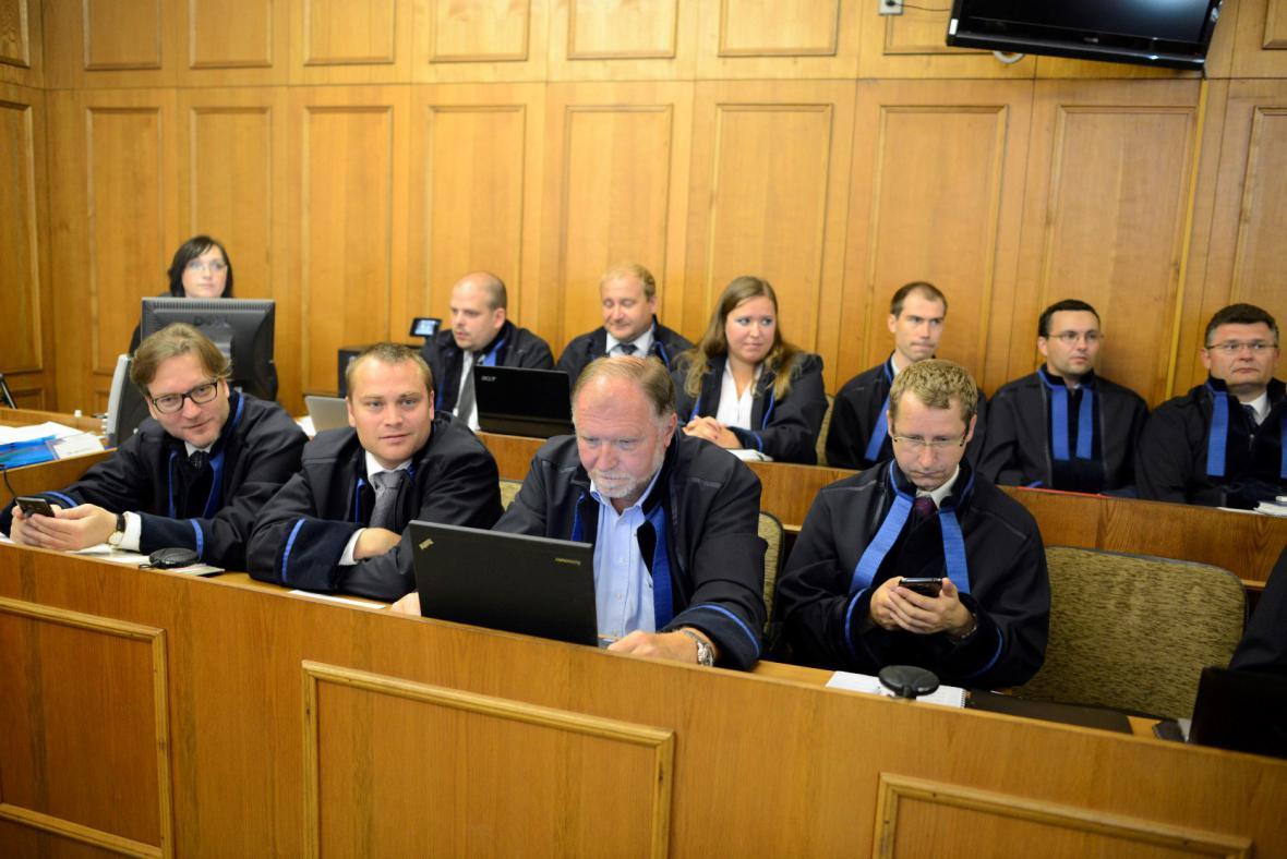 Advokáti obžalovaných v kauze Rath