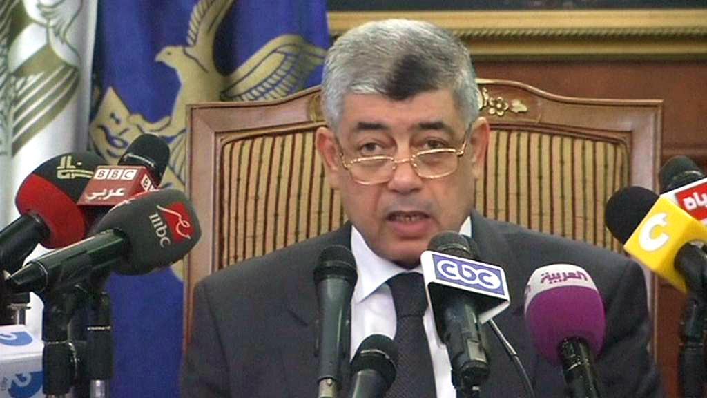 Egyptský ministr vnitra Muhammad Ibráhím