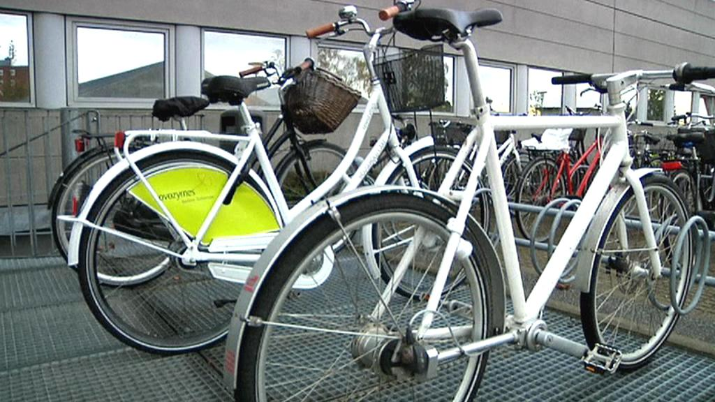Cyklisti v Kodani