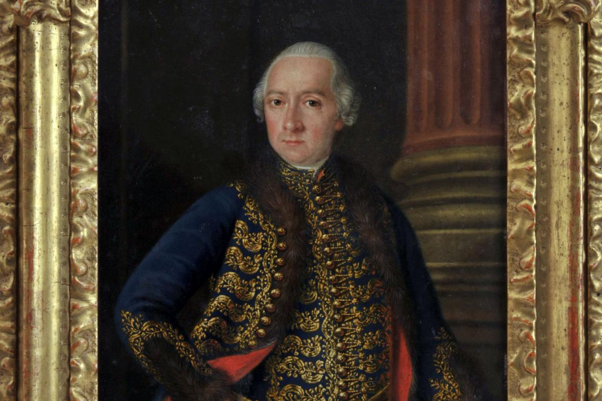 Obraz Jana Nepomuka Csákyho se vrátil do Lysic po 21 letech