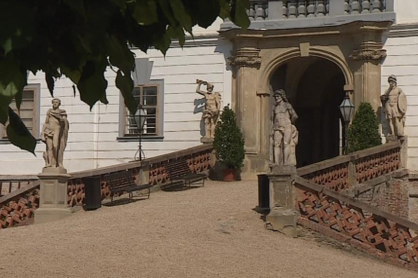 Obraz patřil zámku Lysice