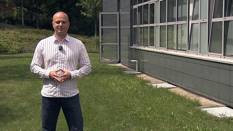 Moderátor pořadu Ochránce Michal Fila