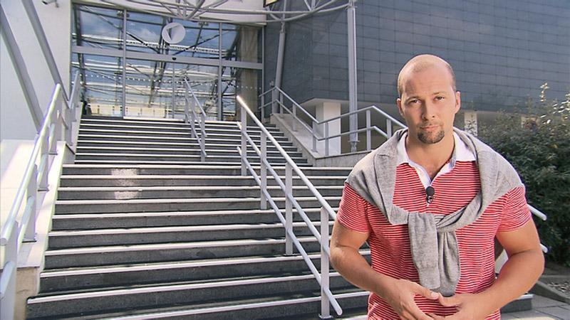 Moderátor pořadu Petr Malý
