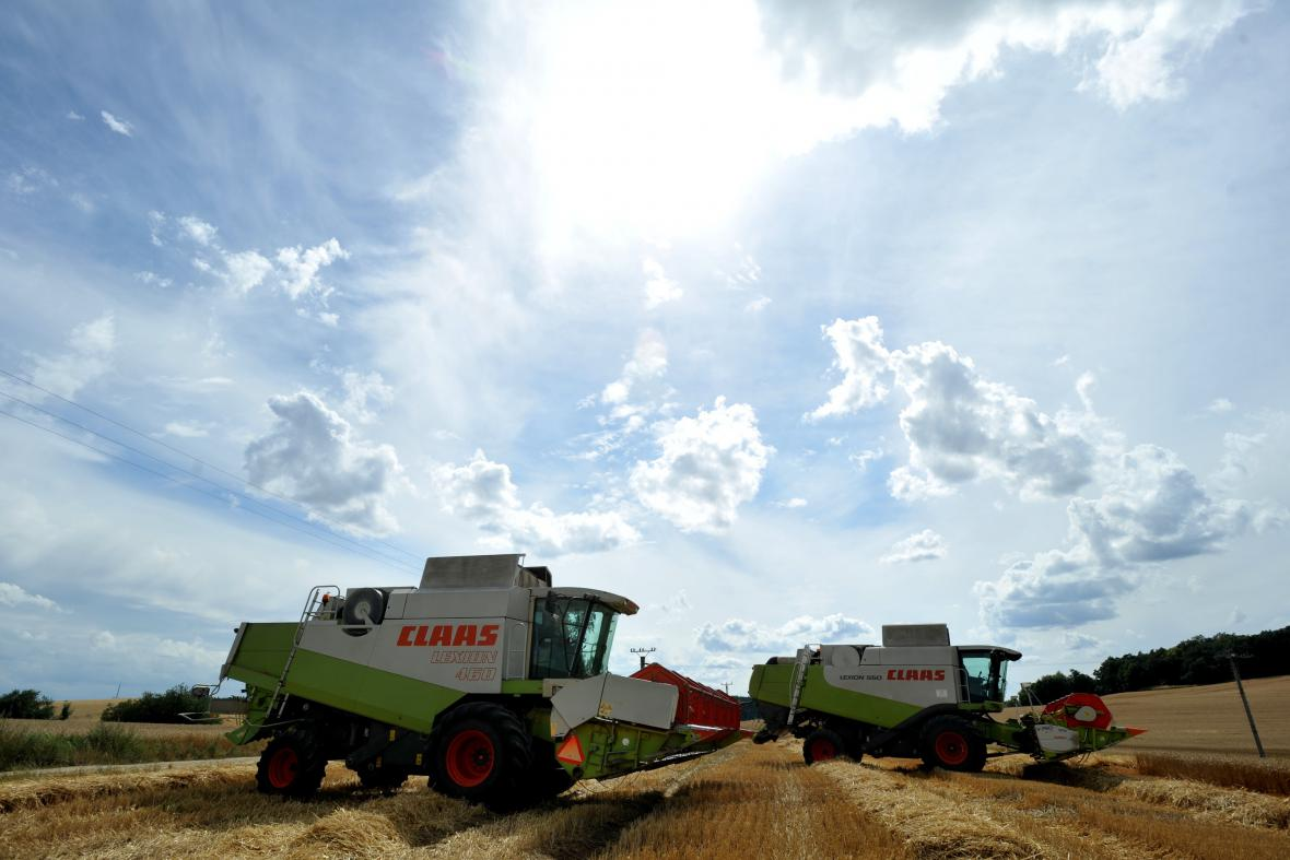 Úplně sklizeno mají například zemědělci na Břeclavsku