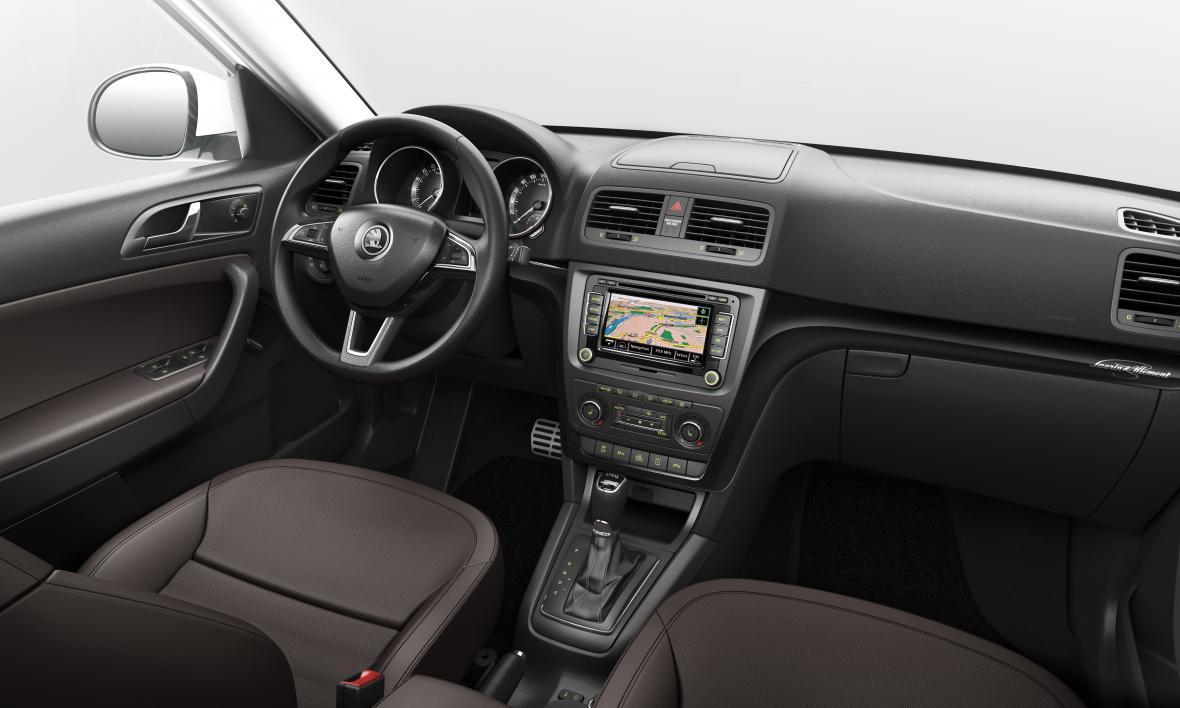 Facelift modelu Škoda Yeti