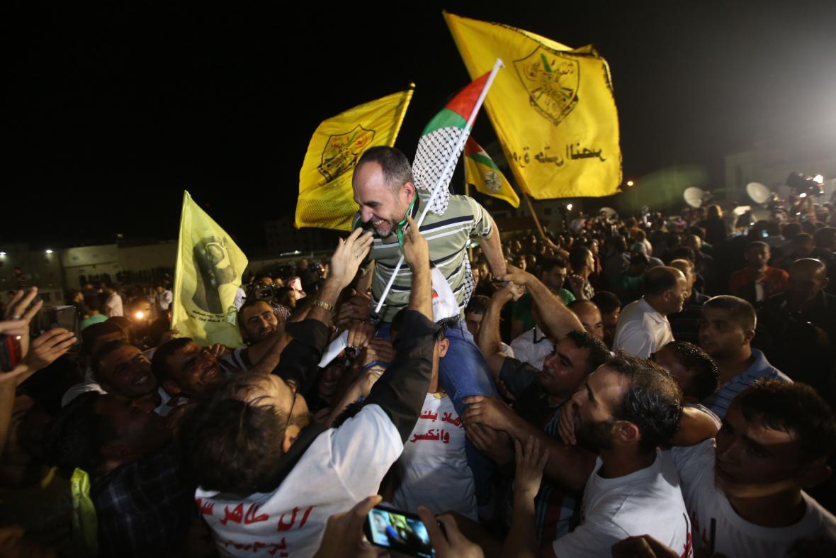 V Gaze vítali vězně jako hrdiny