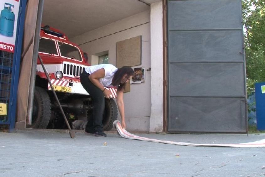 Nové hadice už mají hasičky ve zbrojnici
