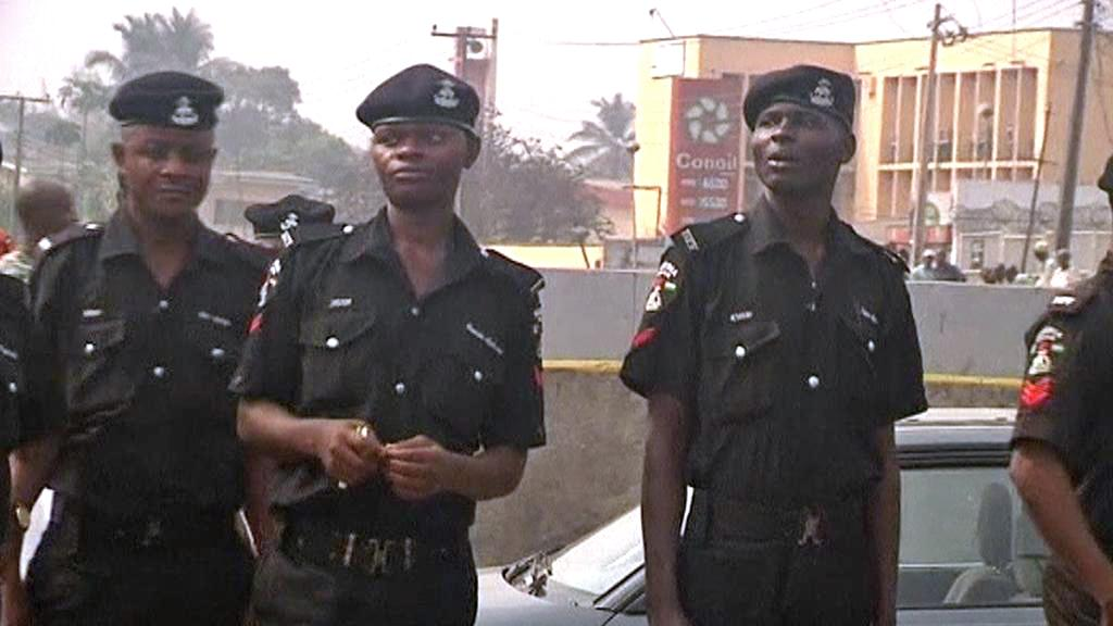 Nigerijská policie