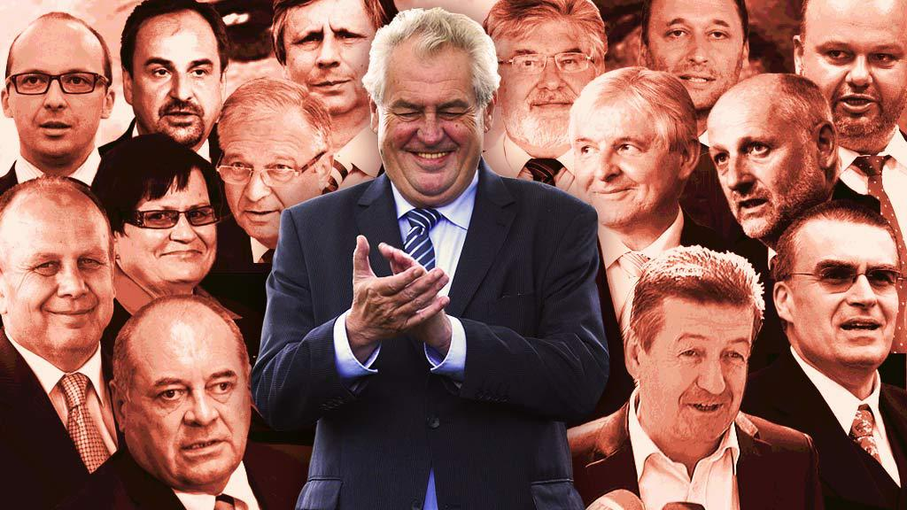 Miloš Zeman a jeho vláda