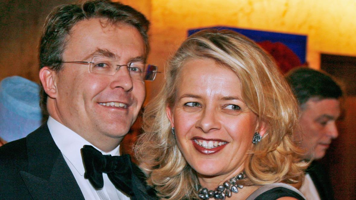 Princ Johan Friso a princezna Mabel