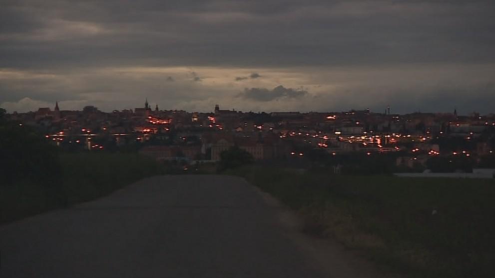 Světelné znečištění ve Znojmě