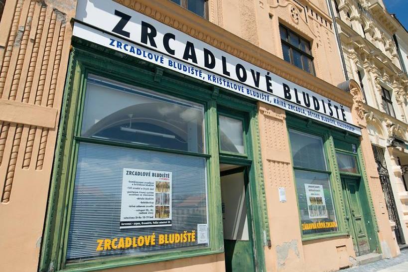 Zrcadlové bludiště v Kroměříži