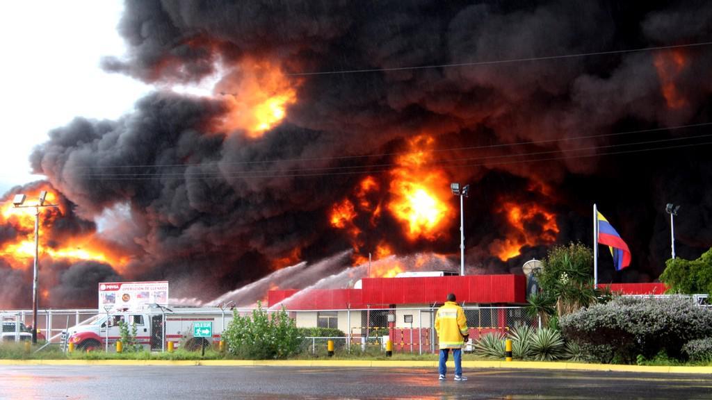 Venezuelská rafinerie