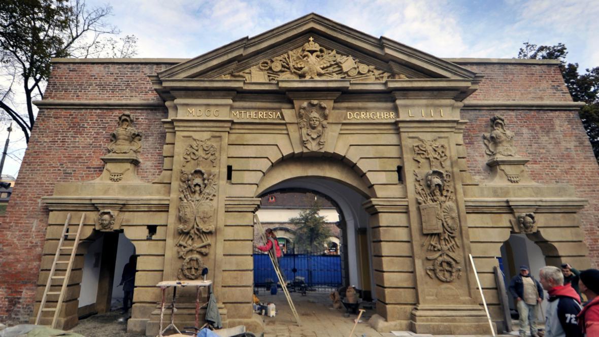 Terezská brána, rekonstrukce