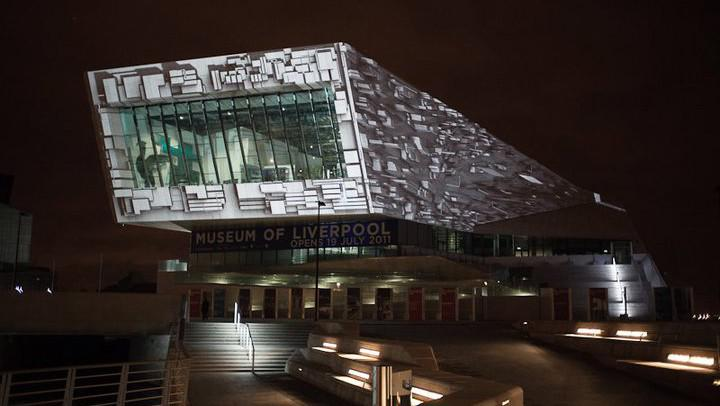 Videomapping (Museum of Liverpool)