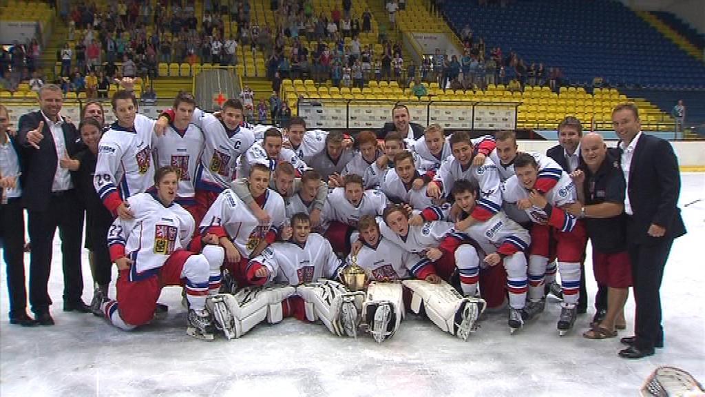 Čeští mladíci chtějí uspět i na mistrovství světa ve Finsku