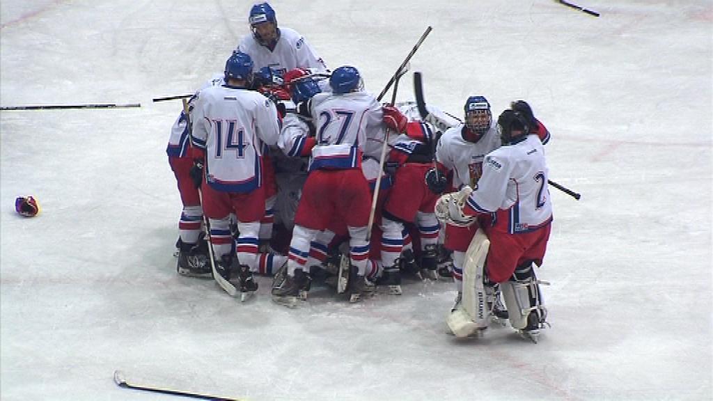 Česká osmnáctka porazila Rusko 3:2