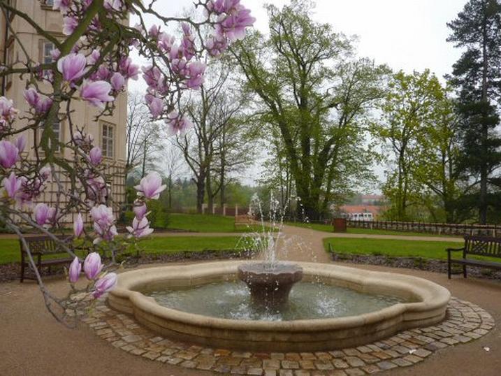 Z parku v Mníšku pod Brdy