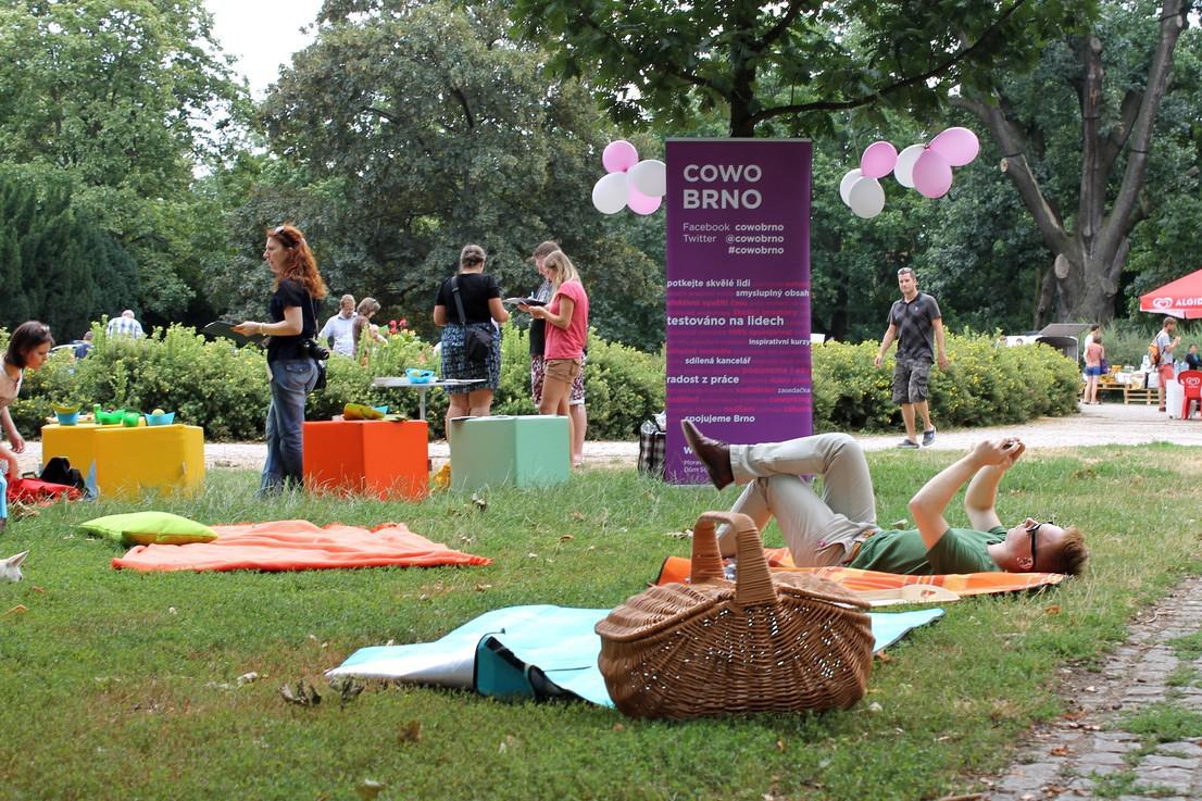 Hromadný piknik v Brně