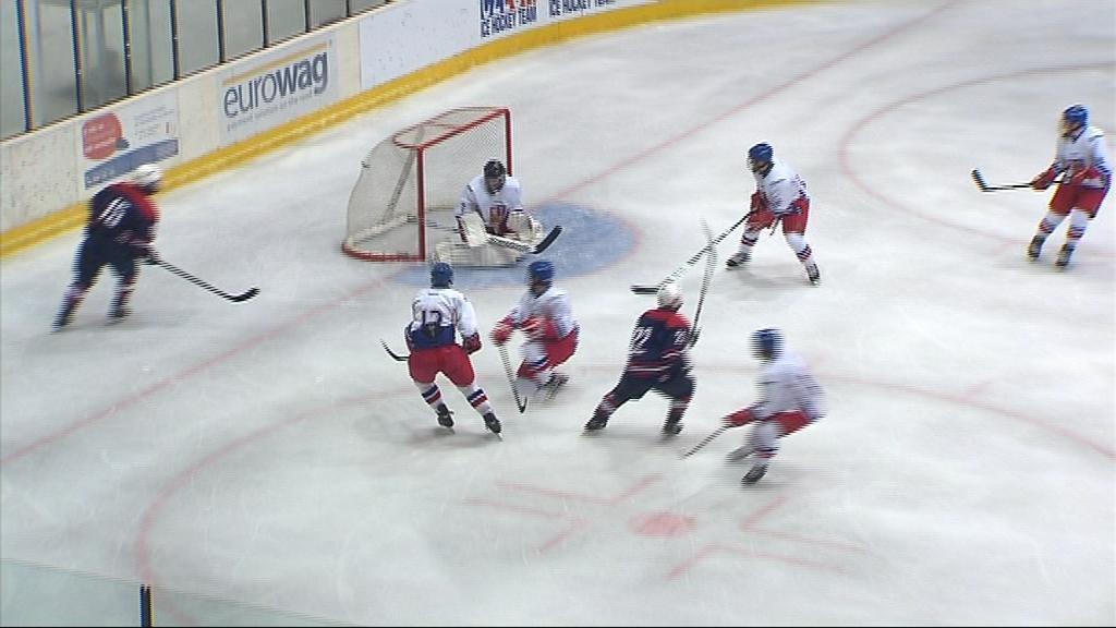 Česká osmnáctka nestačila v semifinále na USA