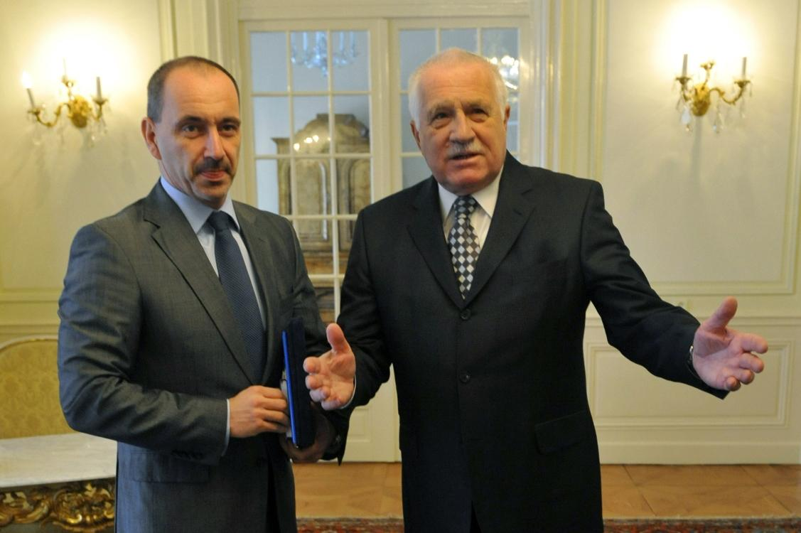 Martin Kuba a Václav Klaus