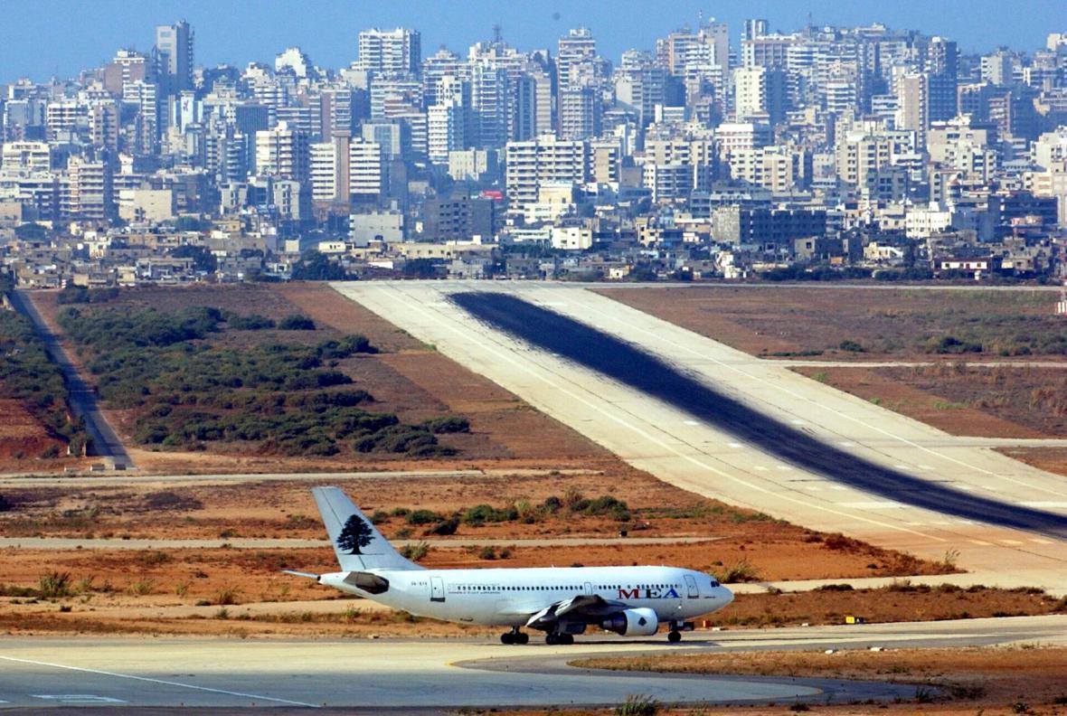 Letiště v Bejrútu