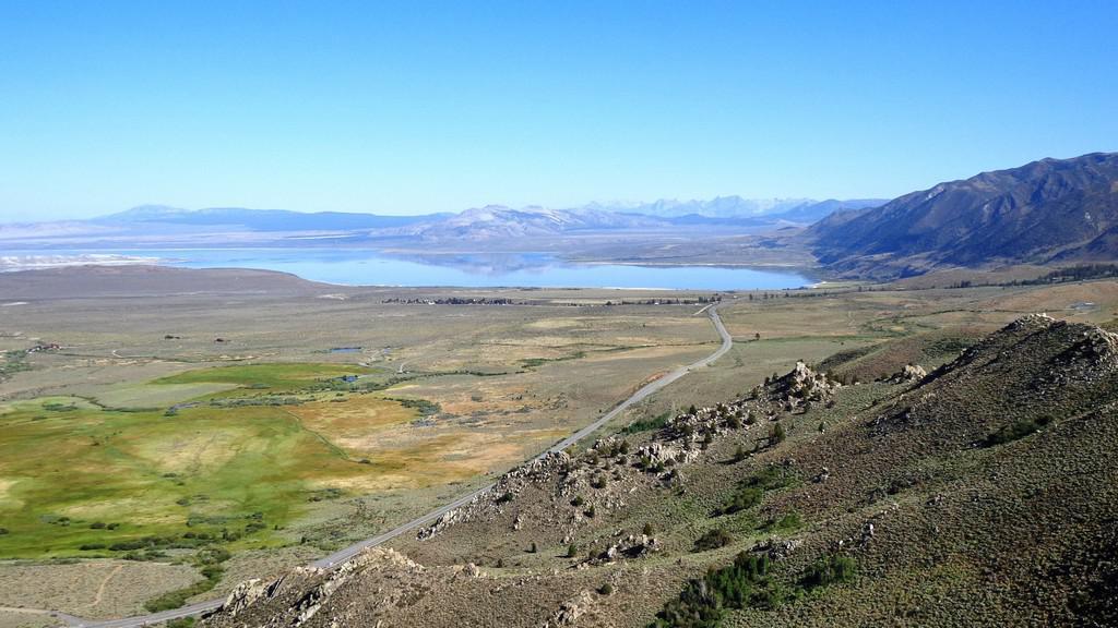 Cesta do June Lake