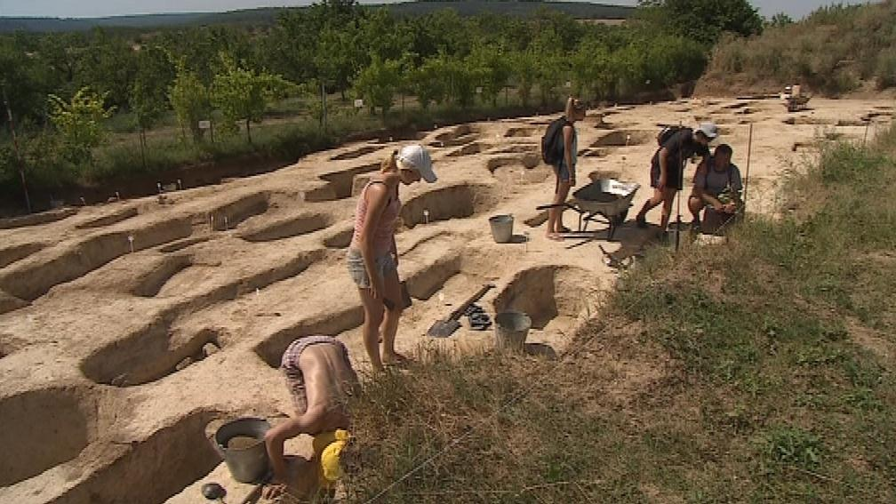 Archeologické naleziště v Hradišti na Vsetínsku