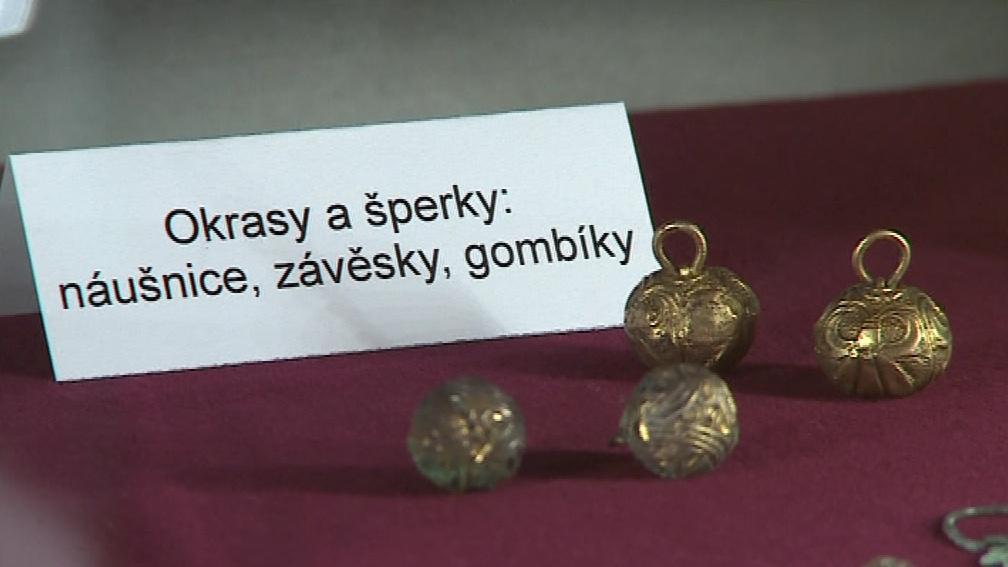 Exponáty muzea v Hradišti na Znojemsku