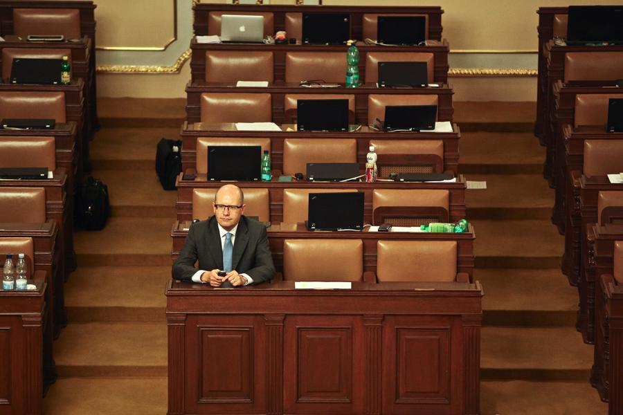 Hlasování o důvěře Rusnokově vládě