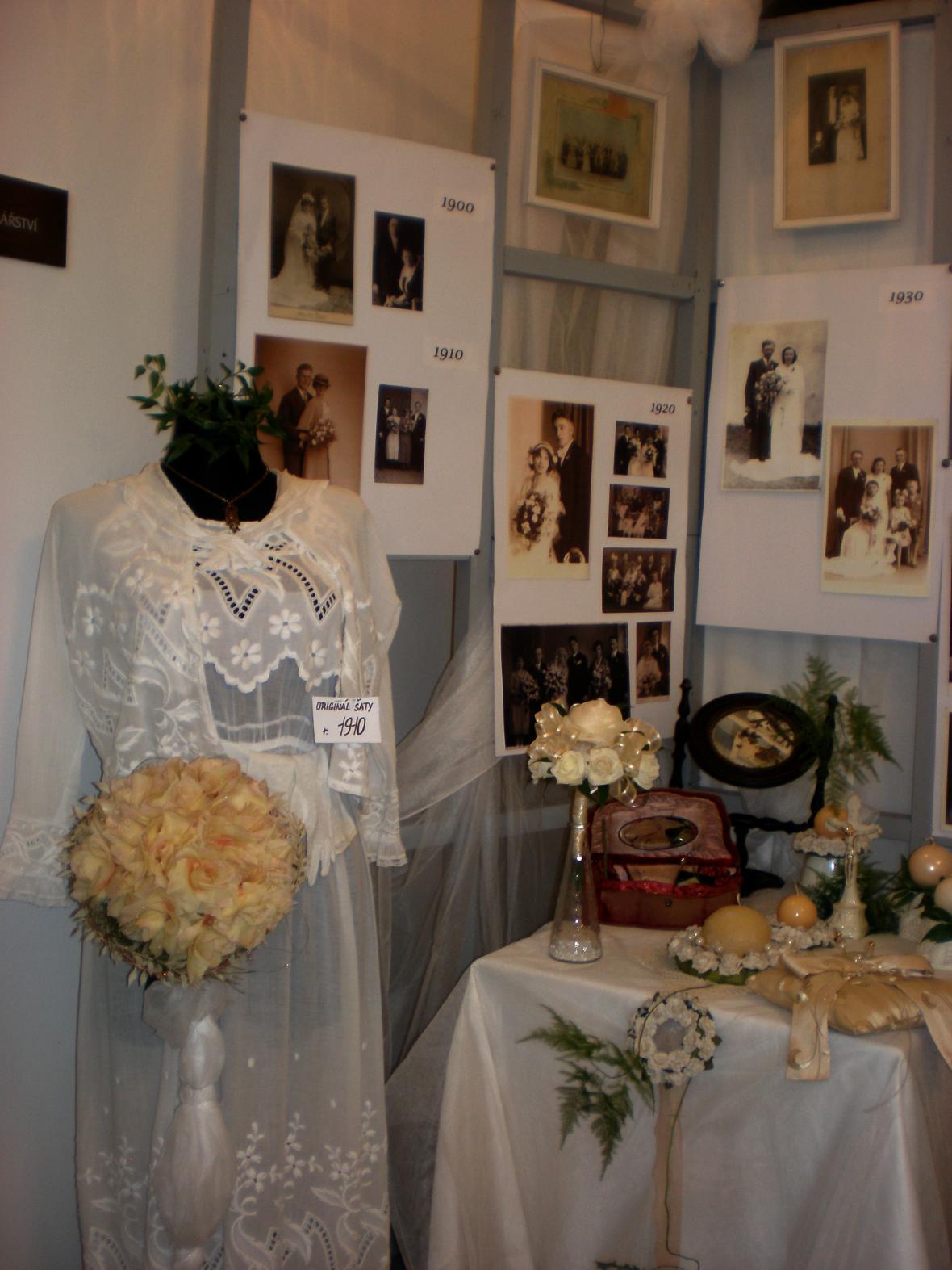 Z výstavy Svatební čas